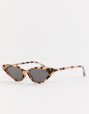 8dd3a612527d8 DESIGN cat eye sunglasses in milky tort in 2019