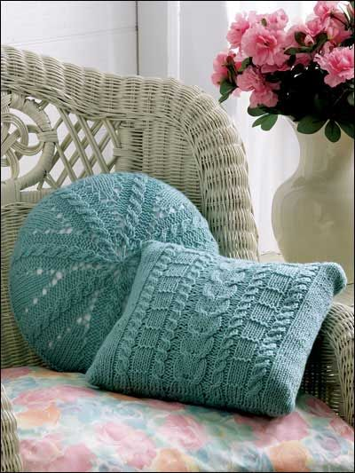 Cables Square Round Free Knitting Pattern Stricken Pinterest