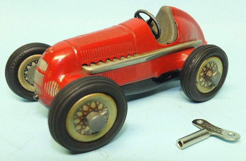 Vintage Schuco Studio 1936 Mercedes Grand Prix Racer Wind Up Toy Car Toys Of Times Past Toy Car Toys Antique Toys