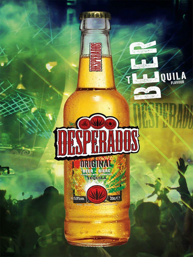 Desperados Tequila Beer Pub Bar Man Cave Metal Wall Art Decor Sign Plaque Britstock Vintageretro In 2020 Beer Pub Beer Tequila Beer