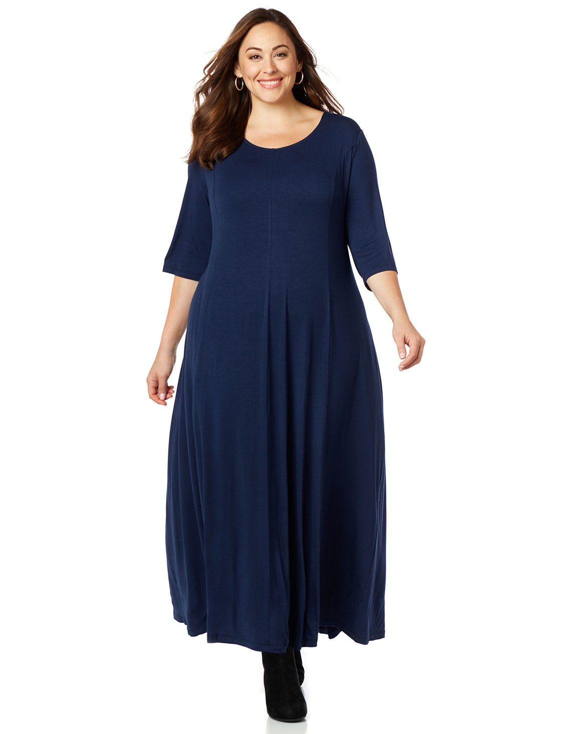 b384543809 Flare Maxi Dress from Catherines Plus Sizes  Our soft