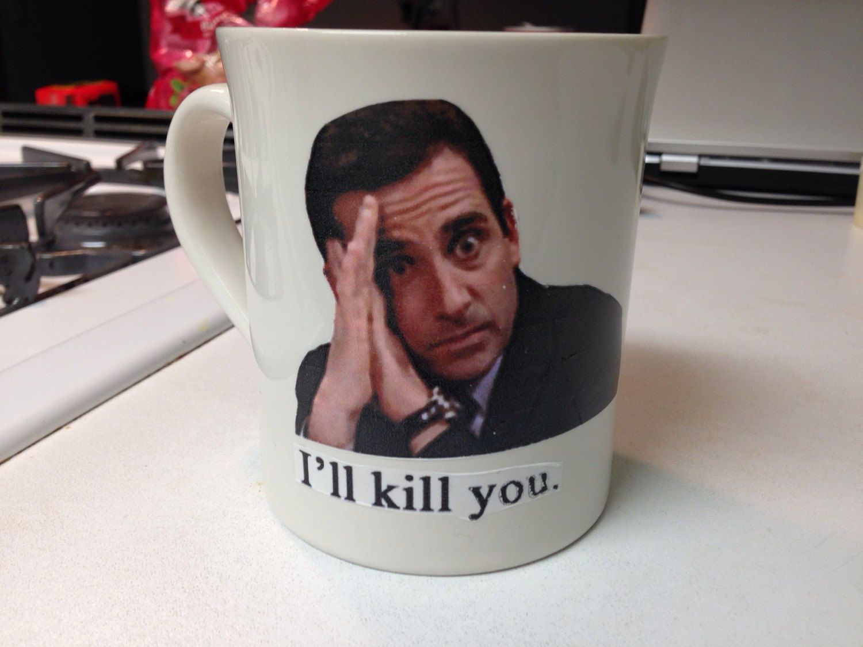 the office mugs. Custom \ The Office Mugs