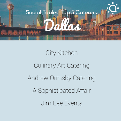 Top 5 Dallas Caterers Wedding Event Planner Event