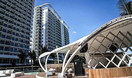 افتتاح فرع لفندق باريس هيلتون في دبي دبي أنا أحب دبي أنا أحب الامارات الامارات السعودية الكويت سياحة سياحة العرب Paris Hilton Hotel Urban Beach Hotel