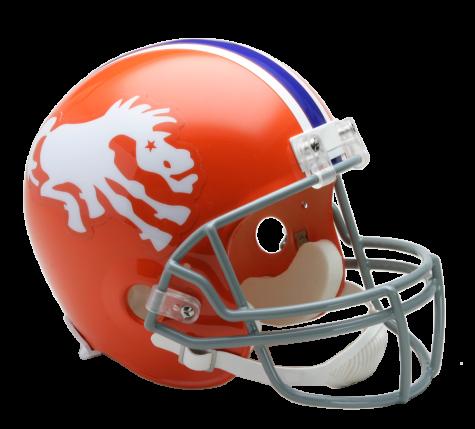 Broncos RK Throwback Helmet Denver broncos helmet