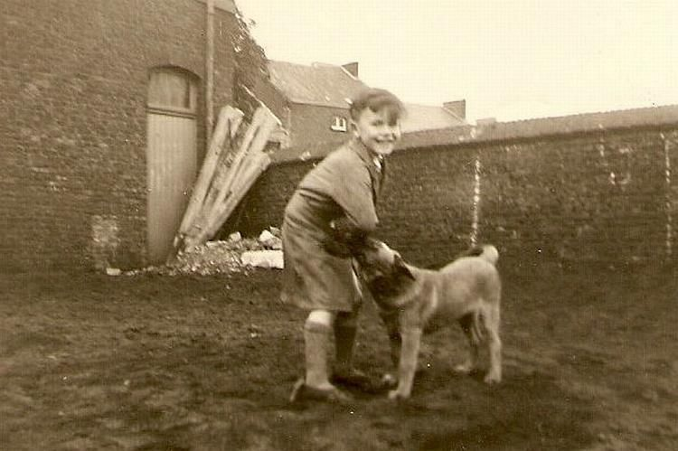 Boy with his Malinois