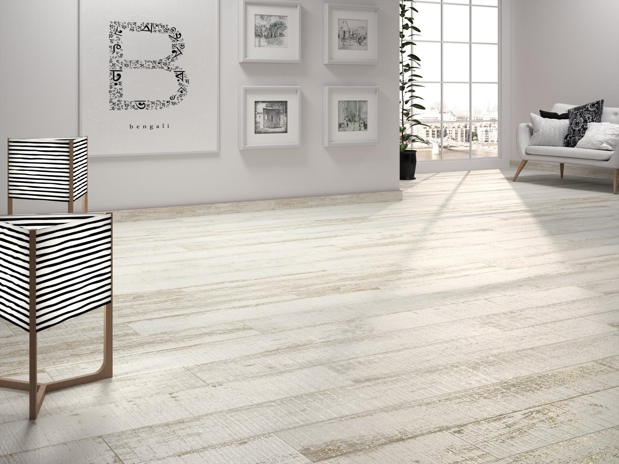 cayenne wood plank porcelain tile - 8in. x 45in. - 100378223