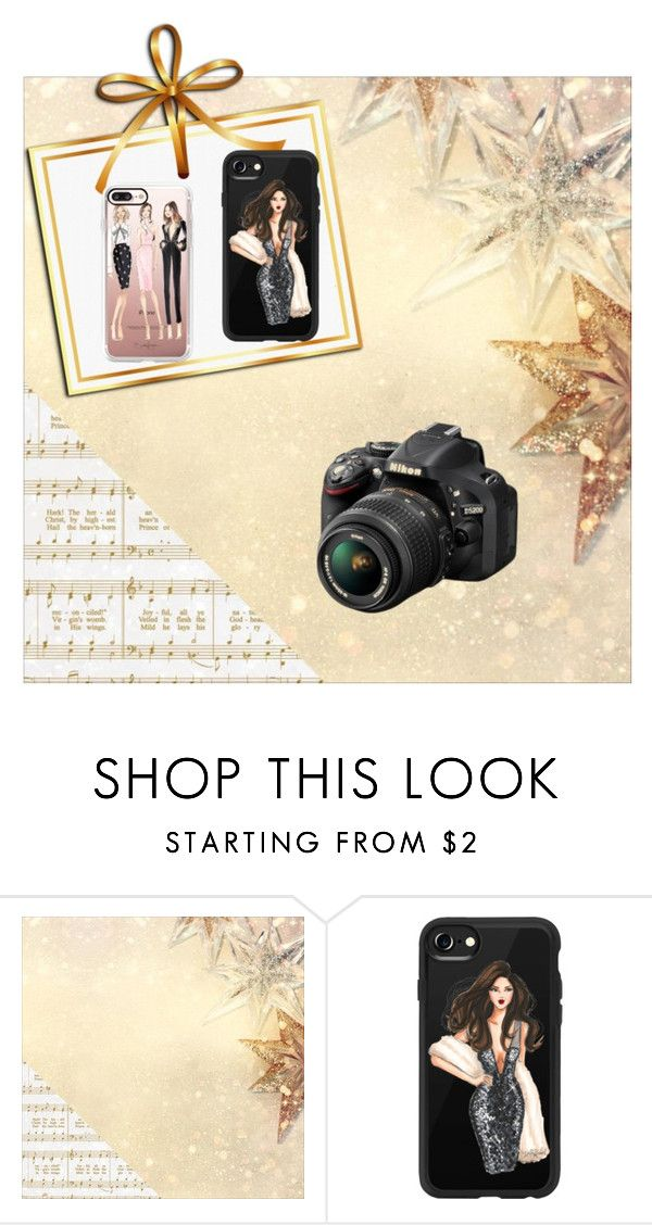 """Untitled #32"" by softic013 ❤ liked on Polyvore featuring Kaisercraft, Casetify and Nikon"