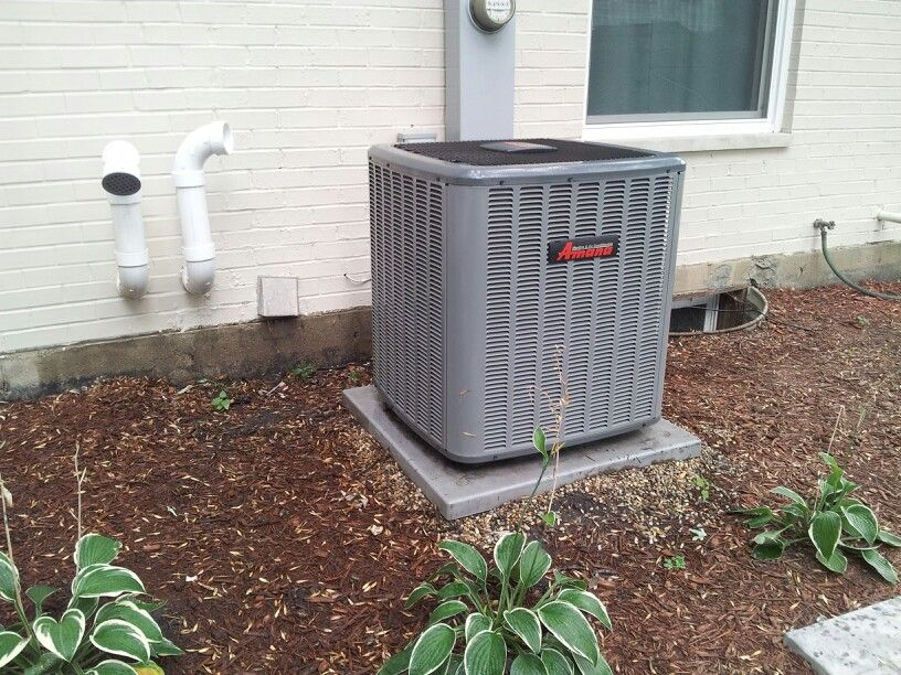 16 SEER 2 stage high efficiency air conditioning and