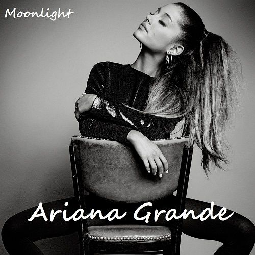 Ariana Grande – Moonlight (single cover art)