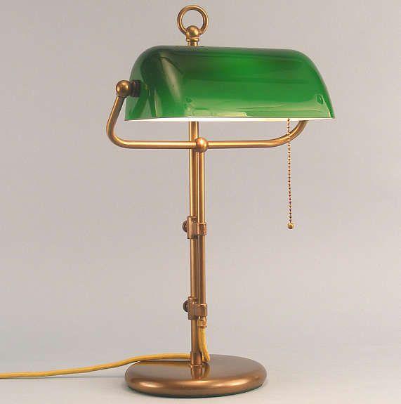 Nice Bankerlampe Banker Lampe Banker Lampe bankers lamp gr n Schreibtischlampe Tischlampe Bonn kalaydo
