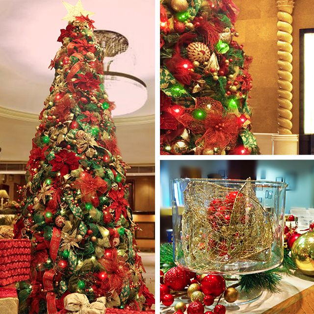 wow factor Christmas trees for hire. Our wow factor