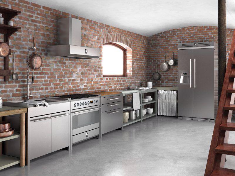 Cocina industrial | casa | Pinterest | Cocinas industriales ...