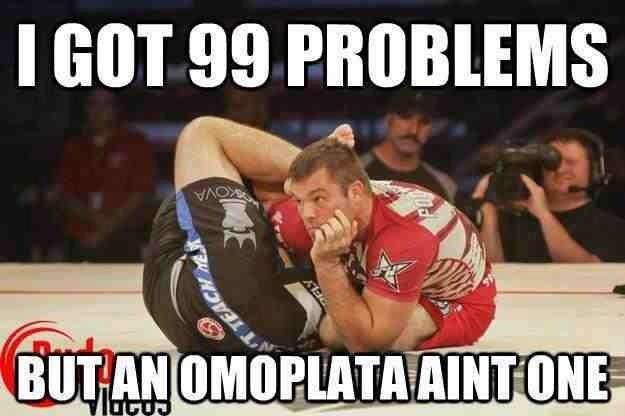 Bildergebnis für omoplata meme