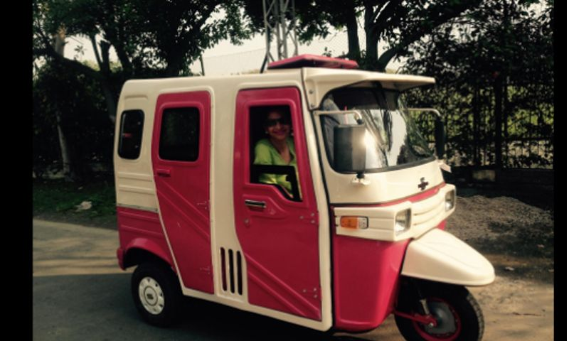 Pink Taxi service for women in Pakistan to enable them to travel safely without fear of getting harassed on the street, by conventional taxidrivers or on public transport