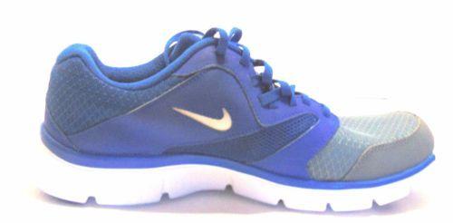 309218546f95 Nike Men s Flex Experience Rn 3 Running Shoe Blue Grey White Size 10 ...