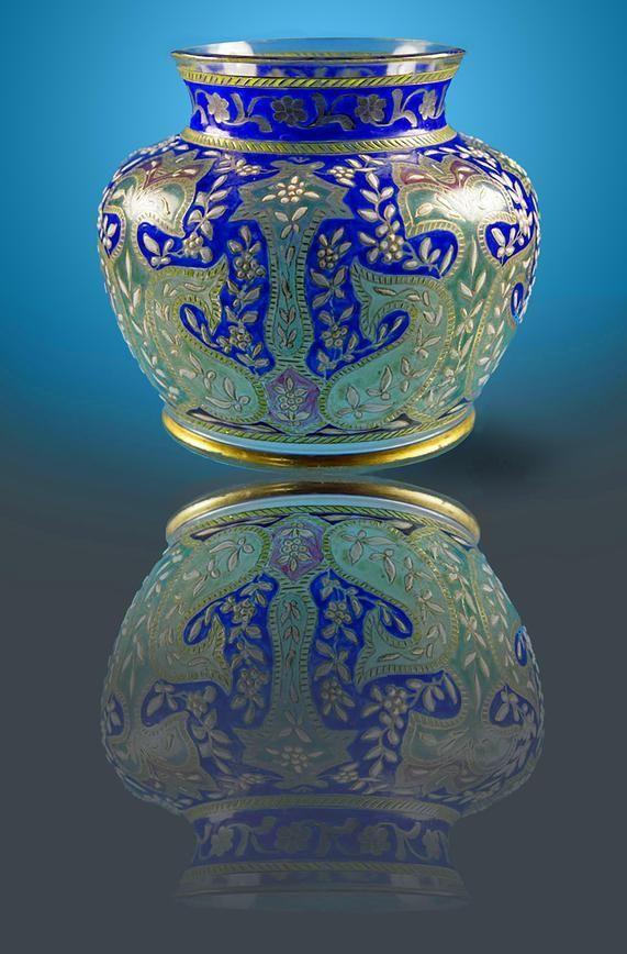 Fritz Heckert Glass - Moser Glass
