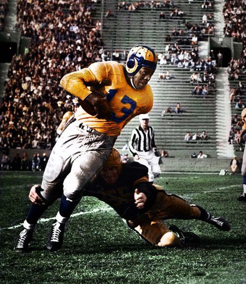 Kenny Kingfish Washington Los Angeles Rams 1946 Nfl Football