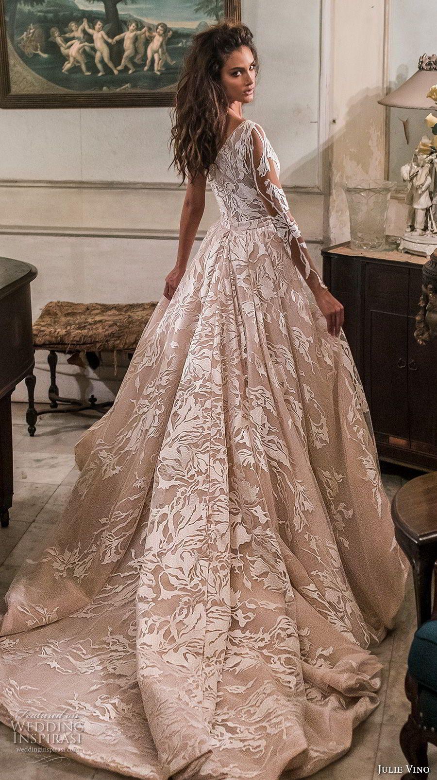 Julie Vino Fall 2018 Wedding Dresses Havana Bridal Collection Wedding Inspirasi Perfect Wedding Dress Christmas Wedding Dresses Bridal Couture [ 1604 x 900 Pixel ]