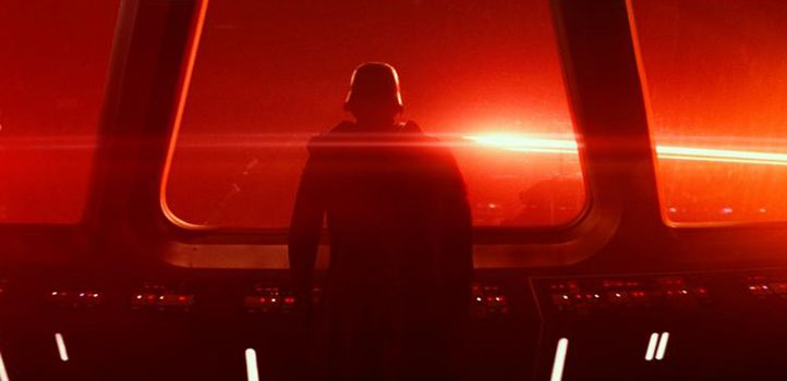 Kylo Ren watches as the Senate faces destruction! See The Force Awakens soon! Your firends can only keep silent so long, folks. One of the best Star Wars films of all time!