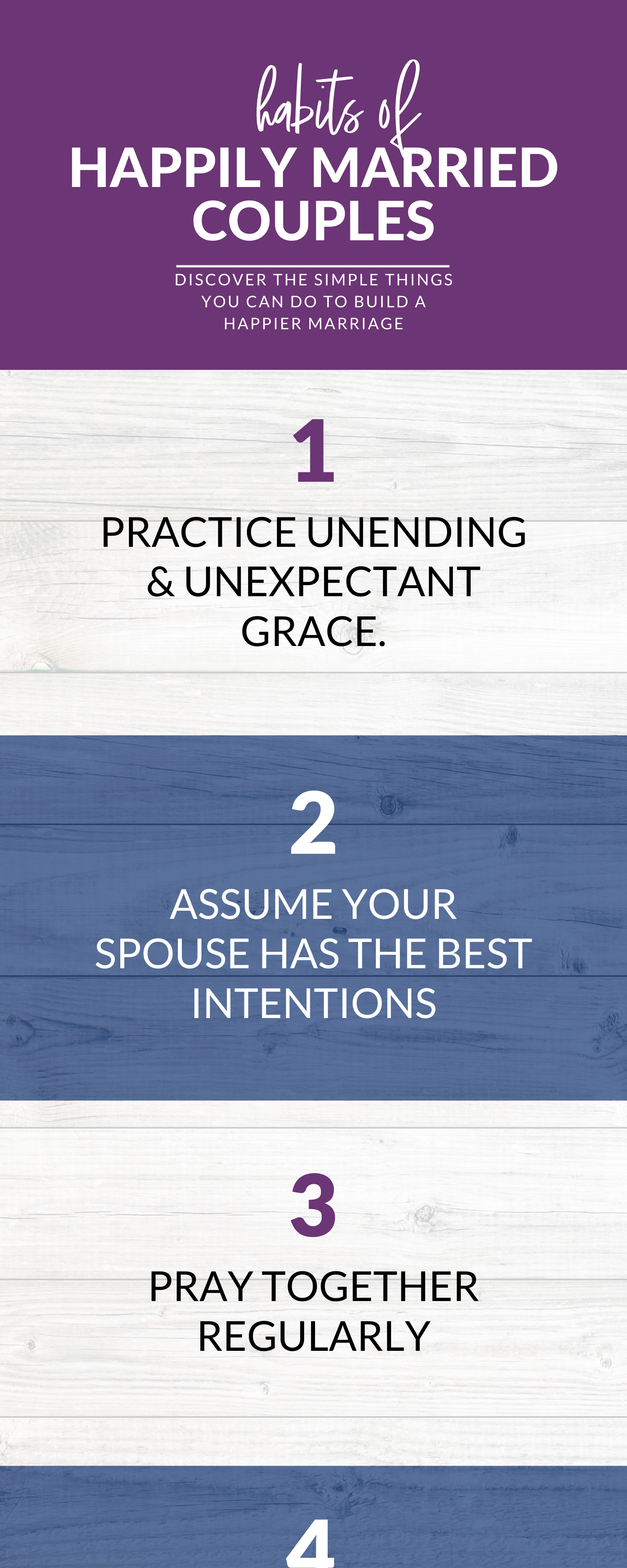 7 Habits Of Happily Married Couples In