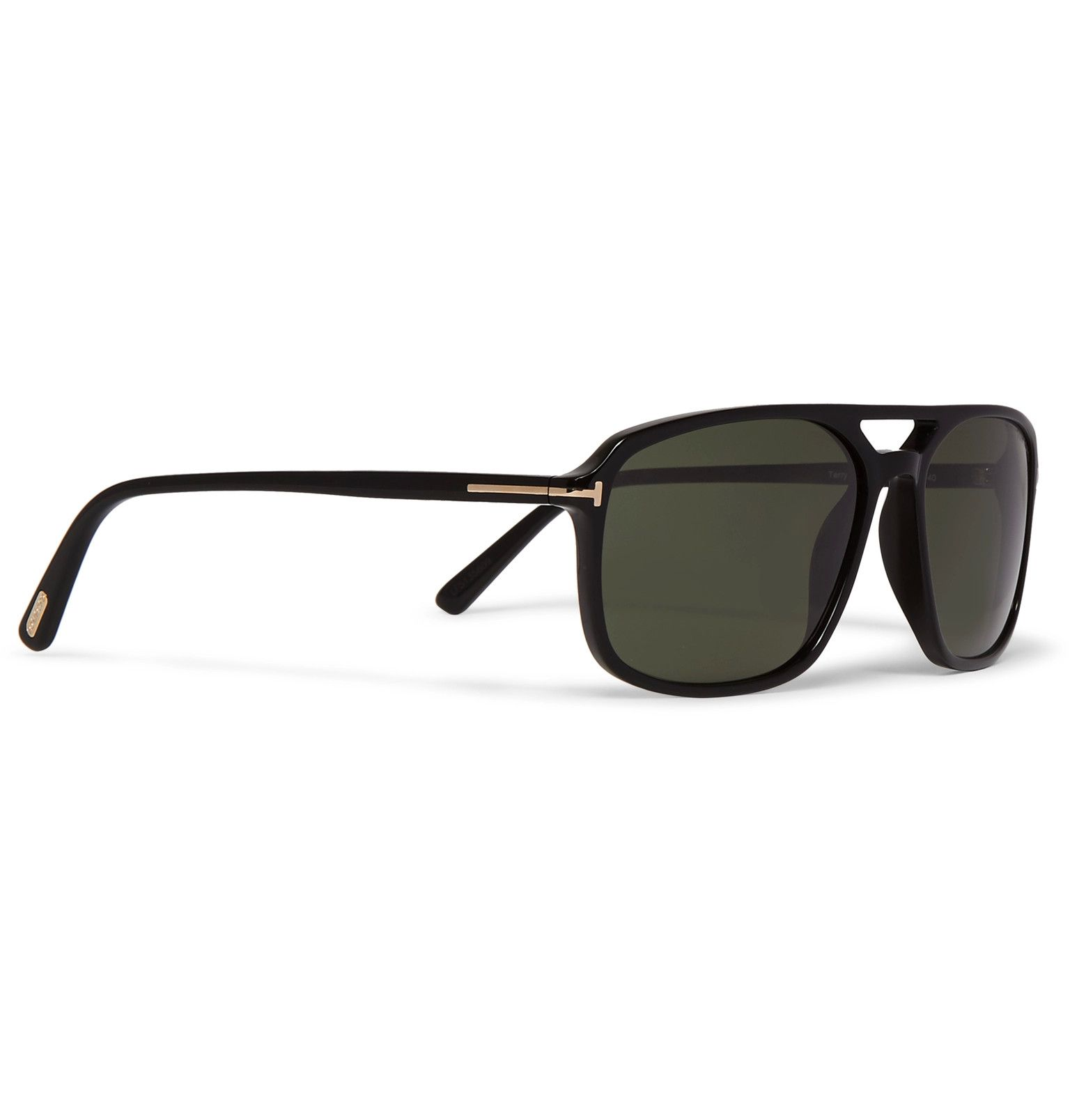1ff60b501abe8 These TOM FORD  Terry  sunglasses are a geometric take on the classic  aviator style
