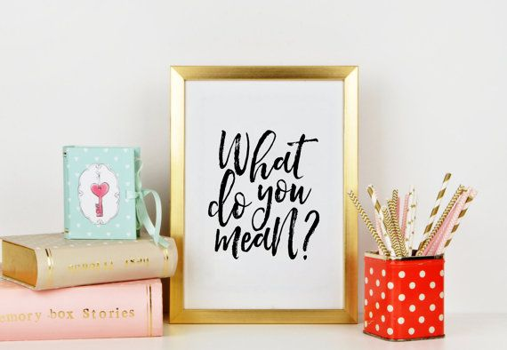 JUSTIN BIEBER POSTER What Do You Mean Song LyricsQuote by TypoHome