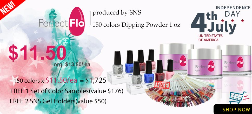 SNS Perfect Flo Promotion | DTK Nail Supply | Wholesale nail ...