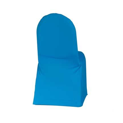 Lovely Chair Cover, Aqua Stretch   Linen Effects   Minneapolis, MN   Chair Cover  Rentals