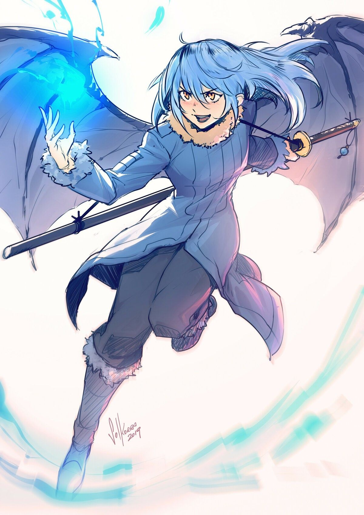 Pin by Wolf Kakashi on That Time I Got reincarnated as a