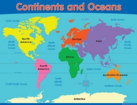 Image Of The Continents
