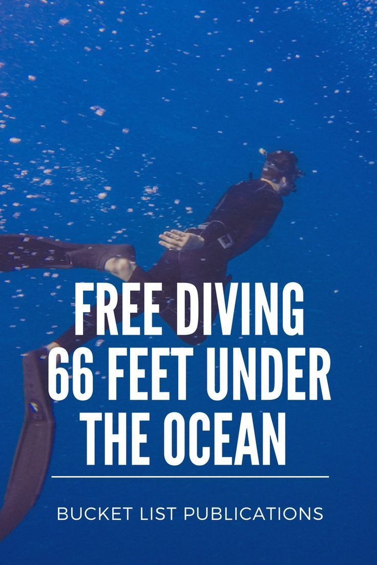 Best Destinations For Freediving: Pin On Freediving