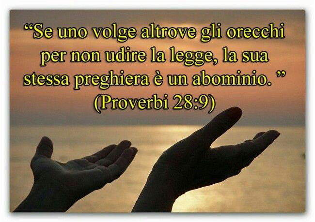 Proverbi 28:9
