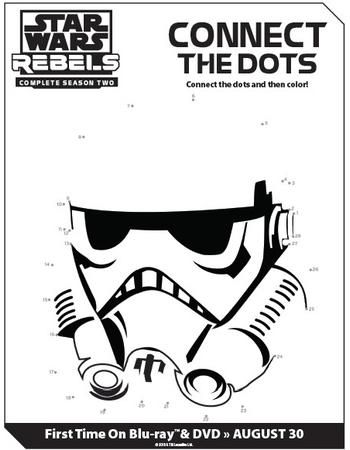 Star Wars Rebels Season Two Connect The Dots Printable Activity - best of star wars coloring pages the force awakens