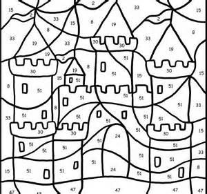 Free Coloring By Number Pages