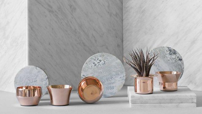 Une déco tendance cuivre rosé | Living rooms and Room