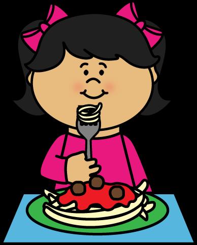 Kid Eating Spaghetti Clip Art Kid Eating Spaghetti Image Kids Clipart Children Eating Clip Art