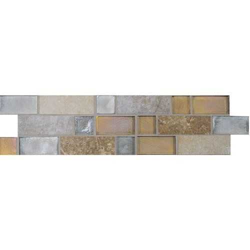 Accent Tile On Control Wall: Zircon Blend SW98 Accent Tile