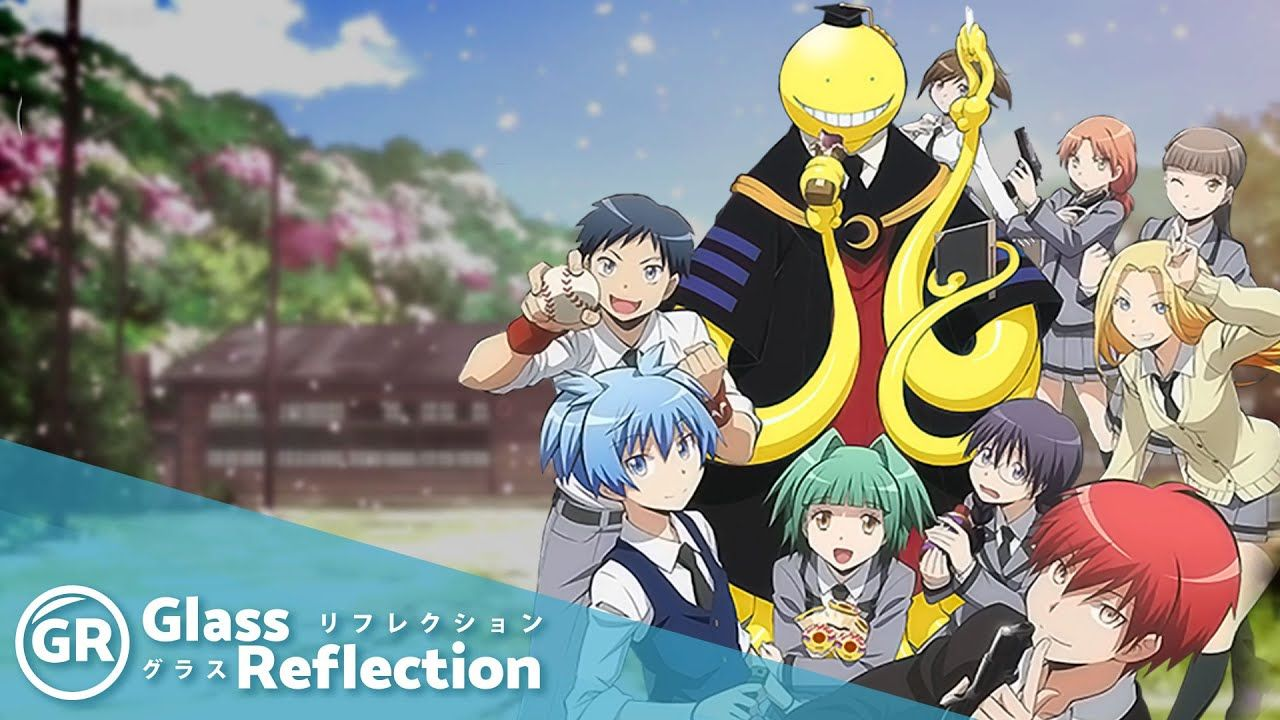 GR Anime Review Assassination Classroom Anime reviews