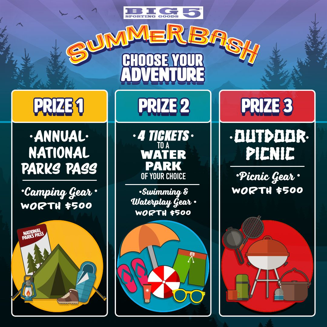 National park adventure sweepstakes and giveaways