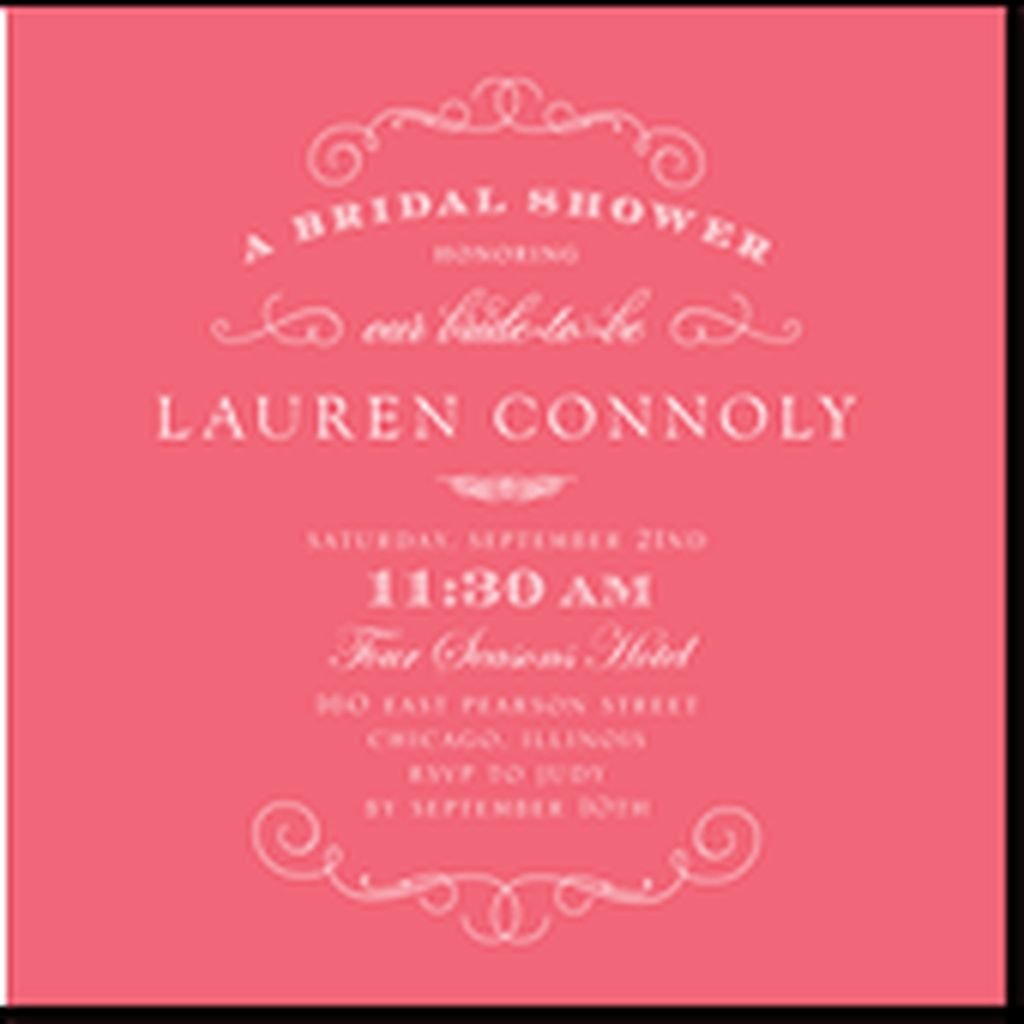 52 Best Classic Bridal Shower Invitations You Can Try | Shower ...