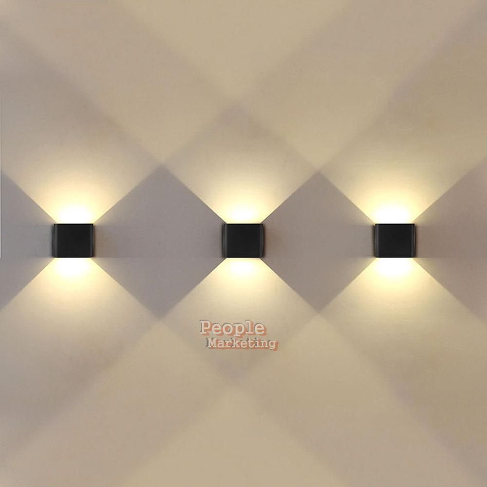 Home Bedroom Decor Up/&Down LED Modern Indoor Corridor Wall Lamp Lighting