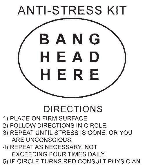 Anti Stress Quotes Anti Stress Kit Story Of My Life Work