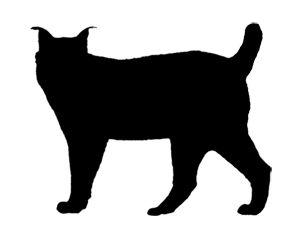 silhouette lynx sök på google quilts pinterest lynx