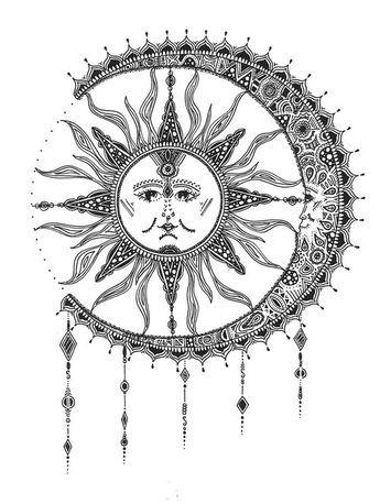 Sun And Moon Tattoo Tumblr Szukaj W Google We Heart It Moon Moon Tattoo Moon Tattoo Designs Moon Sun Tattoo