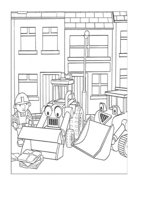Dibujos para Colorear Bob el constructor 10 | Dibujos para colorear ...
