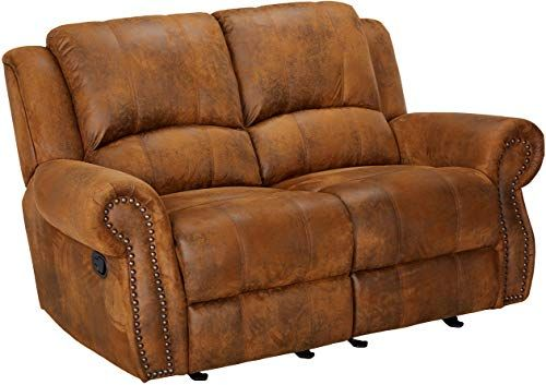 Magnificent New Sir Rawlinson Gliding Reclining Loveseat Nailhead Studs Gamerscity Chair Design For Home Gamerscityorg