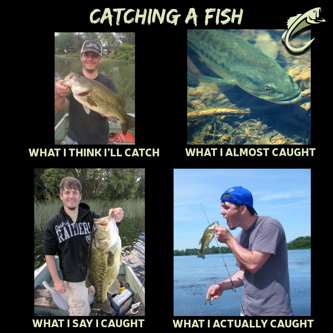 How catching a fish really goes! fishing memes Fishing
