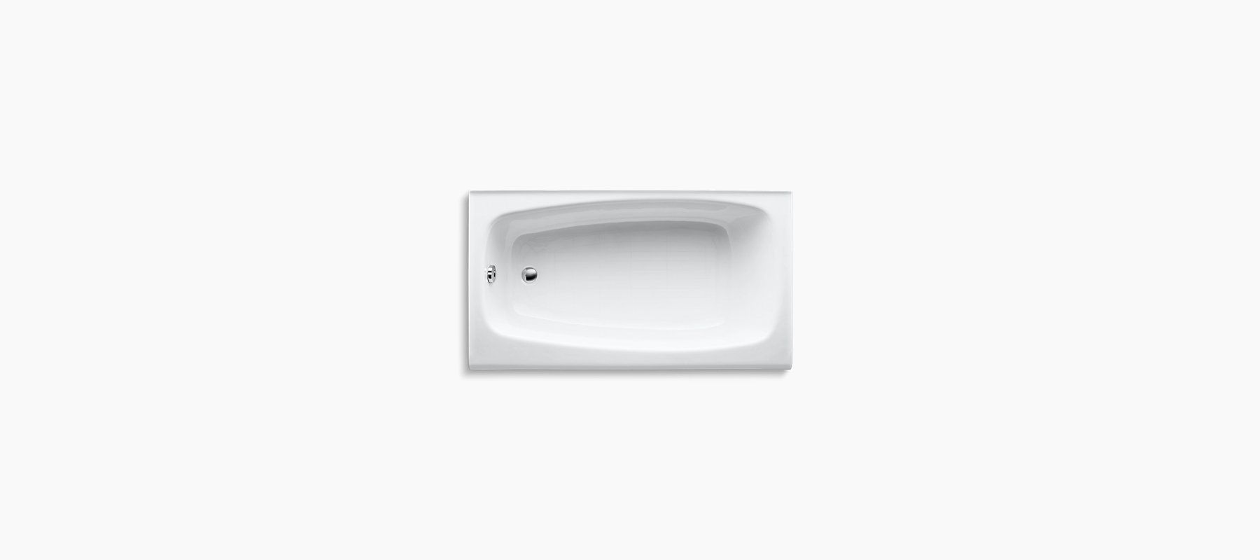 Seaforth 4.5 Foot Bath With Left Hand Drain | K 745 | KOHLER
