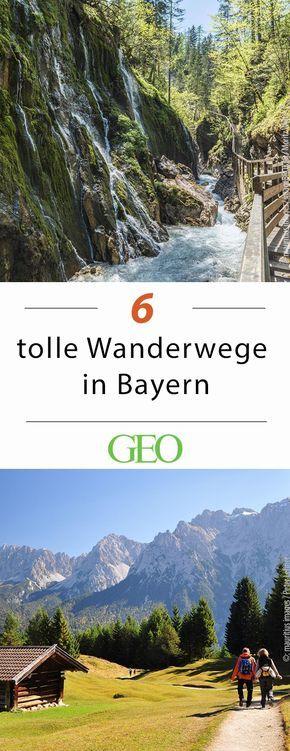 Wandern in Bayern: 6 tolle Routen #aroundtheworldtrips